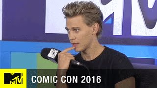 Austin Butler Chats Season 2 of The Shannara Chronicles | Comic Con 2016 | MTV - MTV