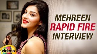 Mehreen RAPID FIRE Interview | Mahanubhavudu Telugu Movie | Sharwanand | Mango Videos - MANGOVIDEOS