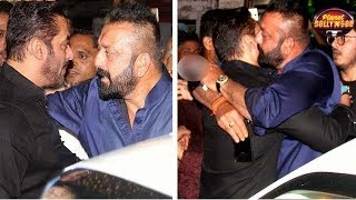 Sanjay Dutt Invites Salman Khan For Special Screening Of 'Bhoomi' | Bollywood News