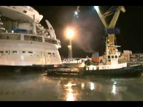 Reportagem do Fantástico: Maior navio do mundo