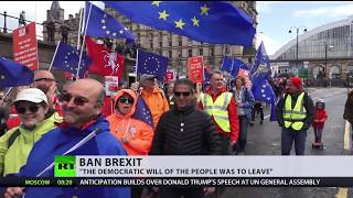 Anti-Brexit protestors demand second vote as Theresa May faces criticism - RUSSIATODAY