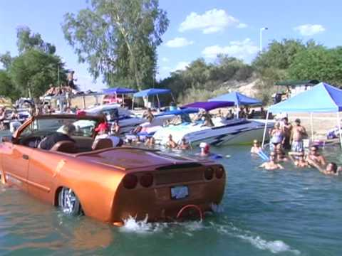 Auto Body Shop - Fountain Valley Bodyworks - unveils fastest amphibious vehicle!