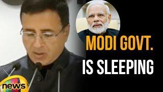 Modi Government Is Sleeping While Doklam Is Under Pounce, Says Randeep Singh Surjewala on - MANGONEWS