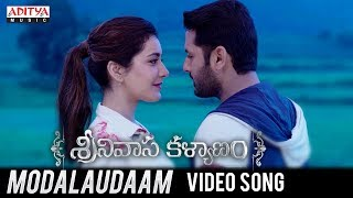 Modalaudaam Video Song | Srinivasa Kalyanam Songs | Nithiin, Raashi Khanna - ADITYAMUSIC
