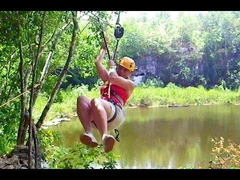 Thumbnail image for 'Zipline Over A Crocodile Pit - An Eco-Hula Women Empowerment Eco-Adventure - 7'