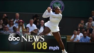 Serena Williams lost to Angelique Kerber in the Wimbledon final - ABCNEWS