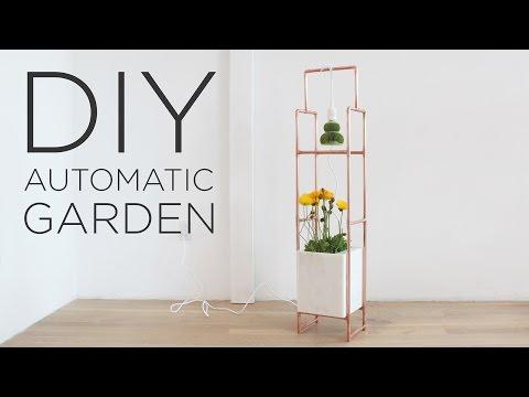 DIY Indoor Garden With LED Grow Lights