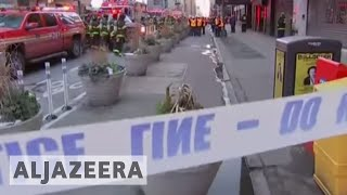 NYC Mayor Blasio: Bombing was 'an attempted terror attack' - ALJAZEERAENGLISH