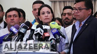 Venezuela's opposition governors refuse to be sworn in - ALJAZEERAENGLISH