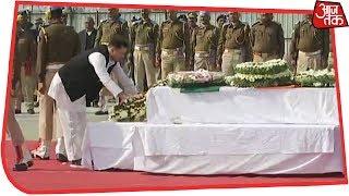 पटना में पुलवामा के शहीद की अंतिम विदाई - AAJTAKTV
