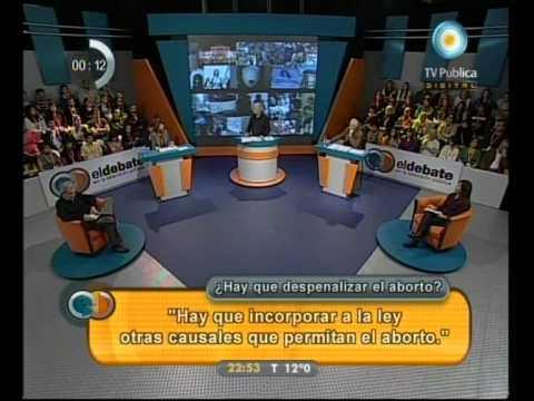 El debate: ¿Hay que despenalizar el aborto? - 17-07-11 (1 de 4)