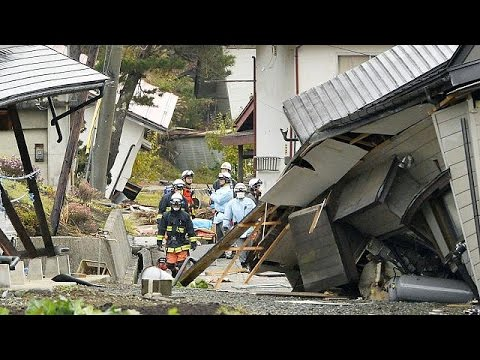 Dozens injured in Japan earthquake