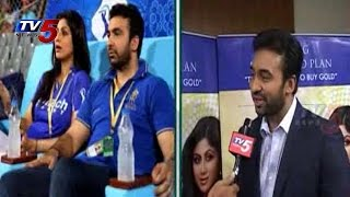 Rajasthan Royals co-owner 'Raj Kundra' Face To Face With TV5 : TV5 News - TV5NEWSCHANNEL