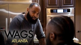 WAGS Atlanta | C.J. Mosley Opens Up About His Relationship to Kesha Norman | E! - EENTERTAINMENT