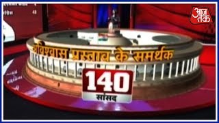 The Numbers Game! Does The Opposition Have The Numbers In The Parliament? | Special Report - AAJTAKTV