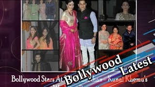 Bollywood Stars At Soha Ali Khan - Kunal Khemu's Wedding Reception - HUNGAMA