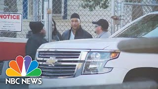 Former Football Player Rae Carruth Released From North Carolina Prison | NBC News - NBCNEWS