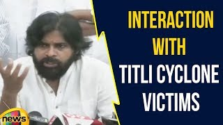 Pawan Kalyan Interaction With Titli Cyclone Victims In Srikakulam District | Mango News - MANGONEWS