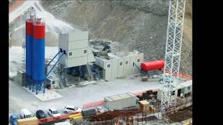 Стационарный бетонный завод sumab т-120