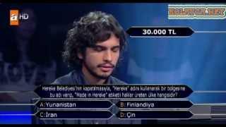 Kim milyoner olmak ister 203. bölüm 10.04.2013 Ufuk Aydınsoy