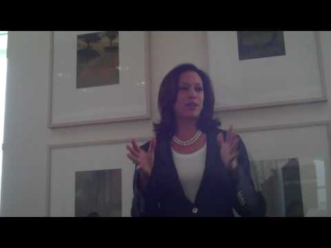 Kamala Harris, San Fran D.A., on her career