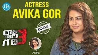 Raju Gari Gadhi 3 Actress Avika Gor Full Interview || Talking Movies With iDream - IDREAMMOVIES