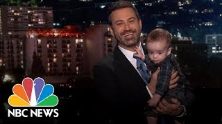 Jimmy Kimmel And His Son Make A Plea For Health Care Reform | NBC News - NBCNEWS