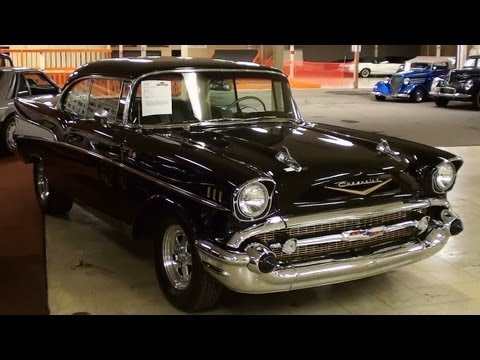 1957 Chevrolet Bel Air 2 dr Hardtop Hot Rod