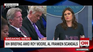 WH: Franken admitted wrongdoing, Trump has not - CNN