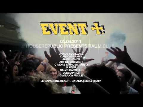 HOUSEREPUBLIC PRESENTS RAUM CLUB (RIZLA EVENT 2011)