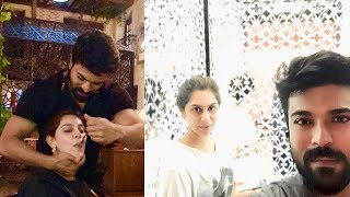 Ram Charan With Wife Upasana Funny Moments And Latest Unseen Photos - RAJSHRITELUGU