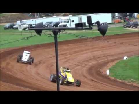 Bloomington Speedway Wingless Sprint Cars (5/2/14)