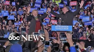 Hillary Clinton, Tim Kaine Campaign for Votes in Pennsylvania - ABCNEWS