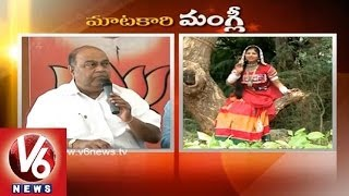 BJP Leader Nagam and Purandhareswari in Maatakari Mangli - V6NEWSTELUGU