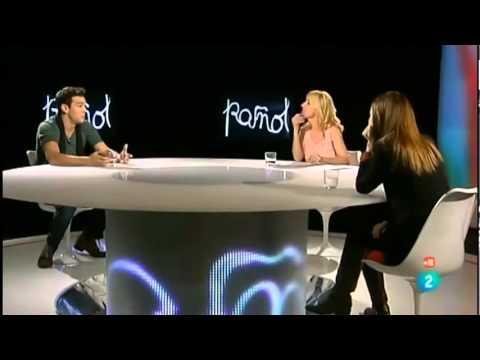 Ana de Armas y Mario Casas en Version española 24-01-12)