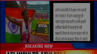 Hima Das wins gold at IAAF World Under-20 Athletics Championships, gets insulted - NEWSXLIVE