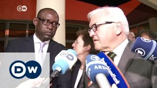 German and French foreign ministers in Mali | DW News - DEUTSCHEWELLEENGLISH