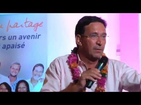 Meeting de clôture des provinciales avec Philippe Gomès  - 2eme partie - 8 mai 2014