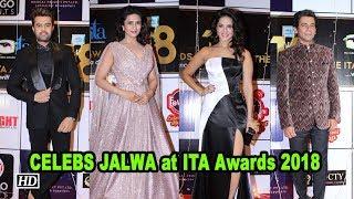Divyanka Tripathi to Sunny Leone: CELEBS JALWA at ITA Awards 2018 - IANSLIVE