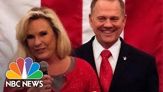 Roy Moore's Wife Kayla Moore Condemns Fake News, Says 'One Of Our Attorneys Is A Jew' | NBC News - NBCNEWS