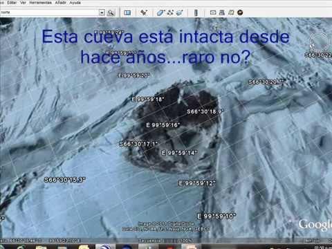 Polo Norte y Polo Sur desde Google Earth