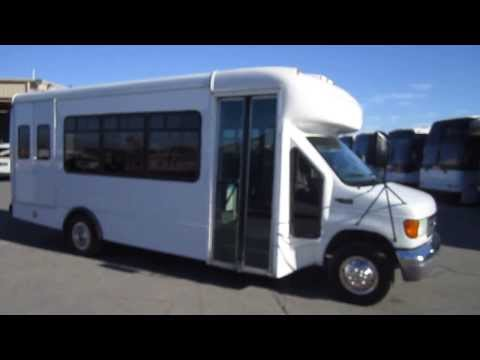 Used Shuttle Bus - 2003 Ford E450 Supreme Startrans For 20 Passengers With Rear Doors S85723