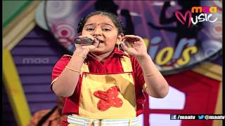 Super Singer 2 Episode 3 : Amrutha Varshini Performance ( Madhura Madhuratara ) - MAAMUSIC