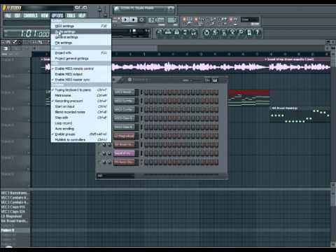 FL Studio 10 - How to remix a song.