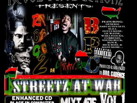 Dead Prez - Malcolm Garvey Huey feat. Divine  - BPC-RBG STREETZ AT WAR MIXTAPE VOL. 1