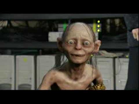 Gollum wins an Award