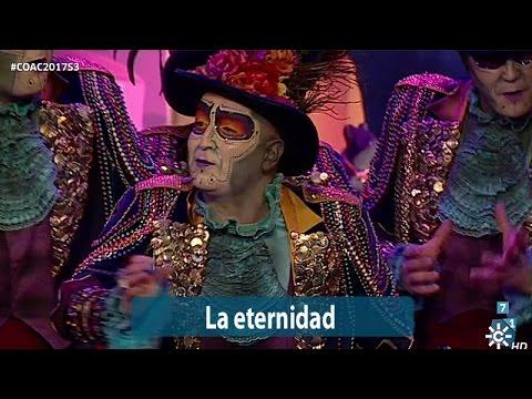 Sesión de Semifinales, la agrupación La eternidad actúa hoy en la modalidad de Comparsas.