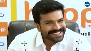 Ram Charan Interaction With Media | Happi Mobiles Store Launch - TFPC