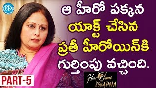 Actress Jayasudha Exclusive Interview Part #5 || Heart To Heart With Swapna - IDREAMMOVIES