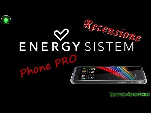Energy Phone Pro la recensione di TecnoAndroid